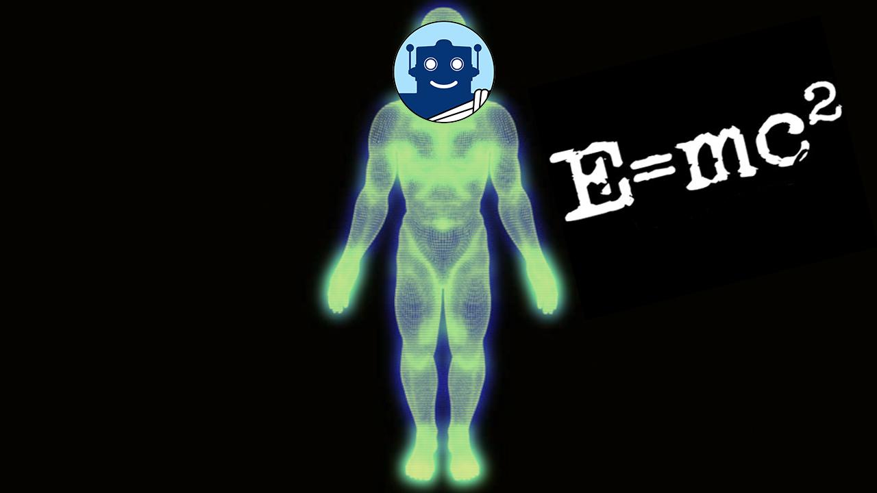 ¿Cuánta energía contiene el ser humano?