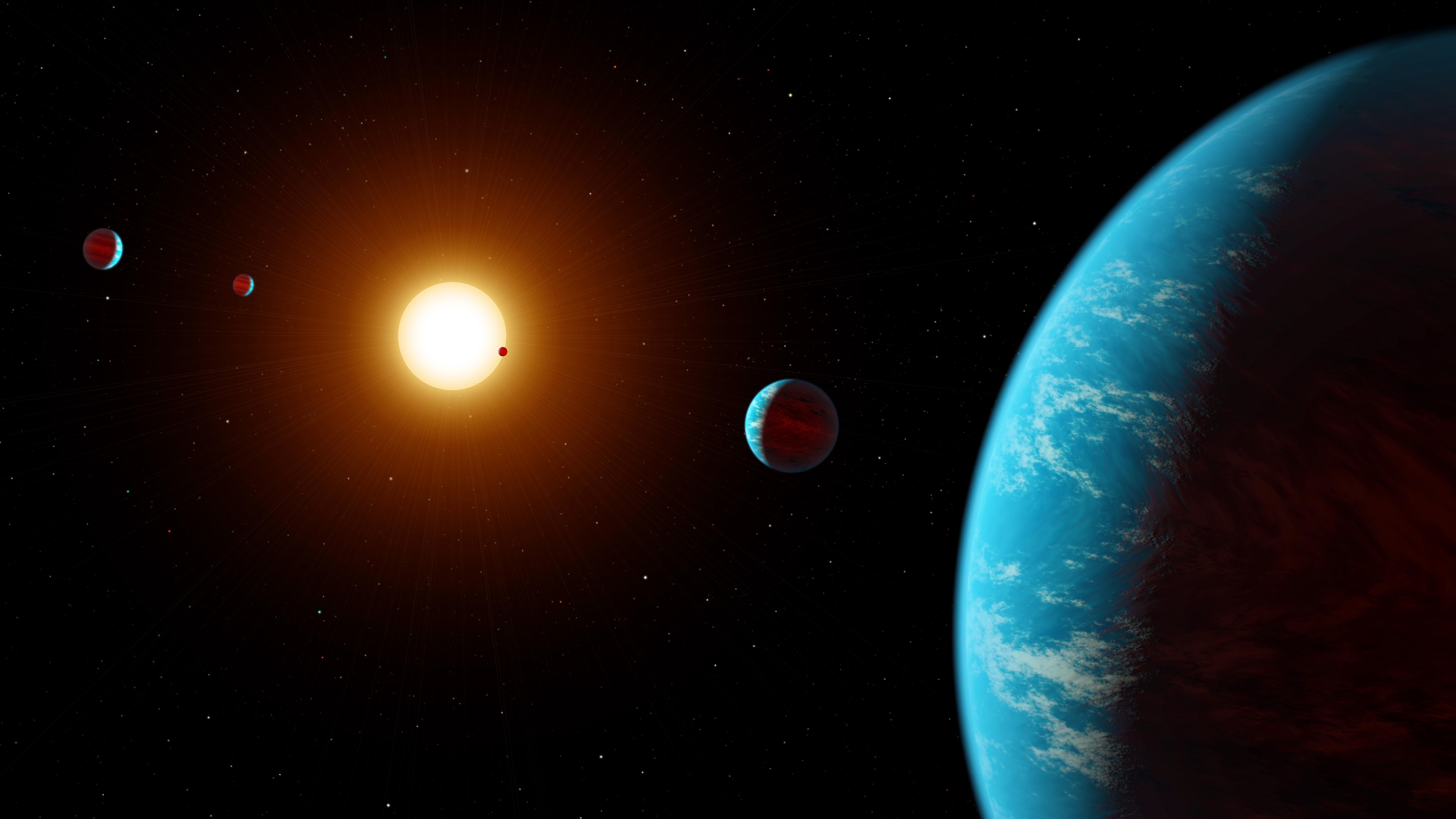 La NASA anuncia el primer sistema de planetas descubierto completamente por científicos ciudadanos