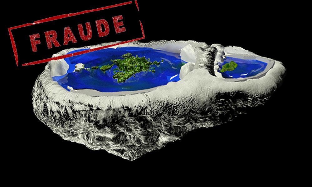Tierra convexa. La estafa de moda