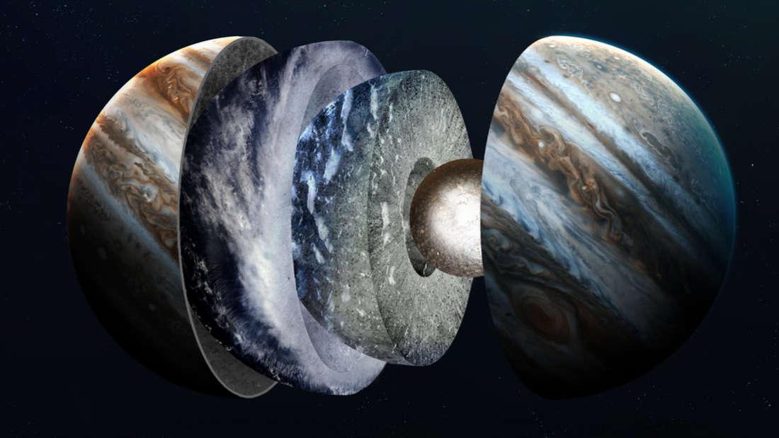 Por fin tenemos una mejor idea de lo que hay bajo las nubes de Júpiter