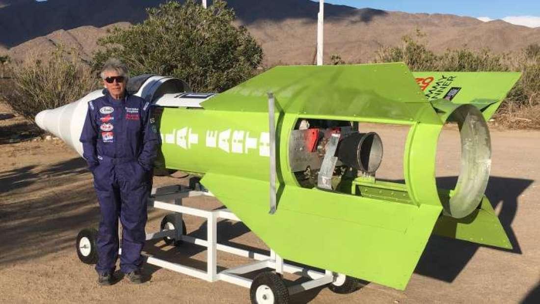 Terraplanista finalmente se lanzó en su cohete casero. Veamos cómo le fue