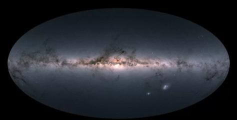 Impresionante mapa cósmico muestra la ubicación de casi 2 mil millones de estrellas