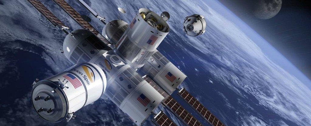 El primer hotel en el espacio estará listo antes del 2022