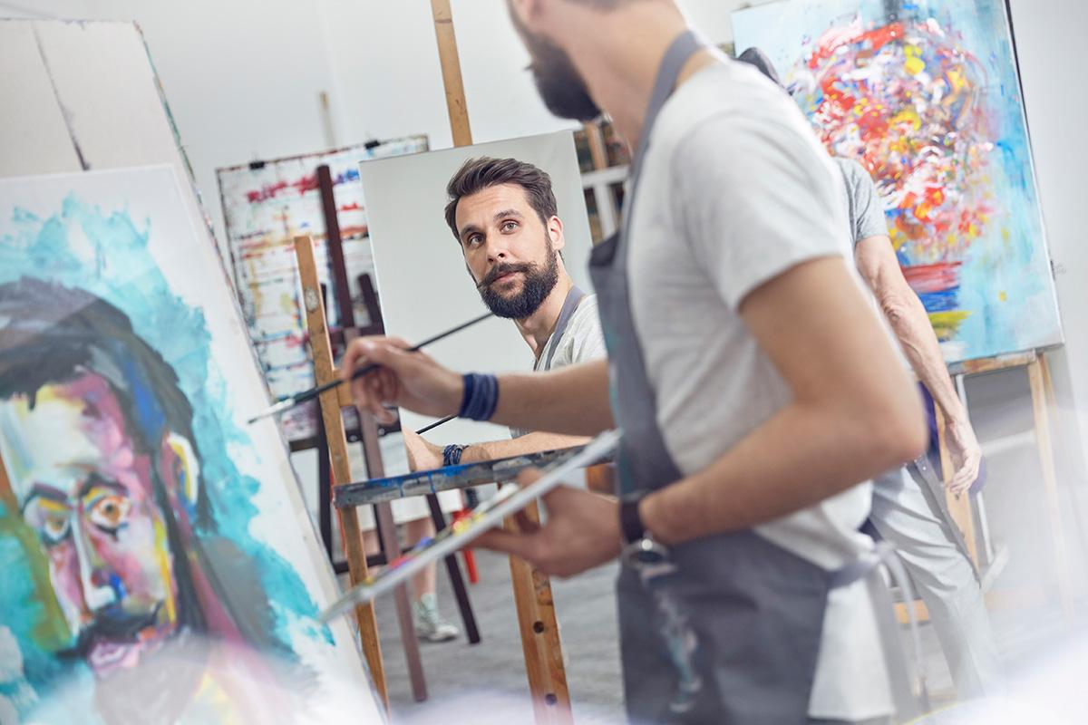 Las personas creativas tienen 90 por ciento más de probabilidades de desarrollar esquizofrenia