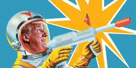 Trump ha ordenado al ejército estadounidense que establezca una Fuerza Espacial