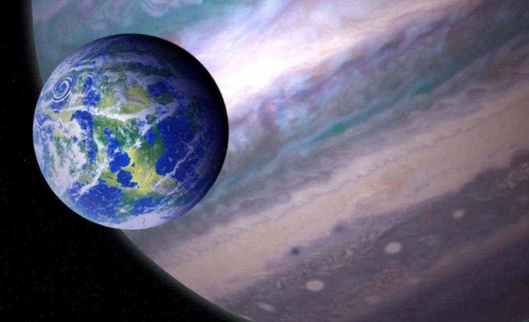 Las lunas de algunos exoplanetas gigantes podrían albergar vida