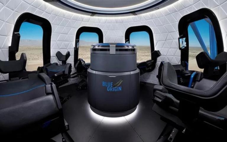Estos son los detalles del lanzamiento de Jeff Bezos al espacio con Blue Origin