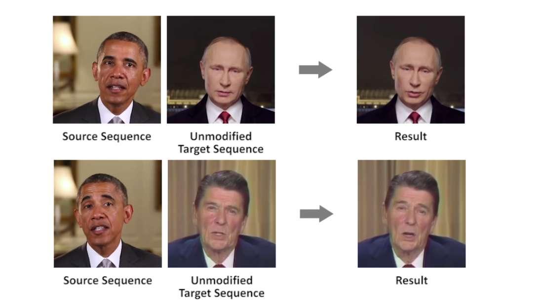 La inteligencia artificial puede ya manipular los movimientos de las personas en videos falsos