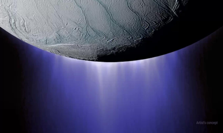 Extraños sonidos espaciales provenientes de la interacción entre Encélado y Saturno