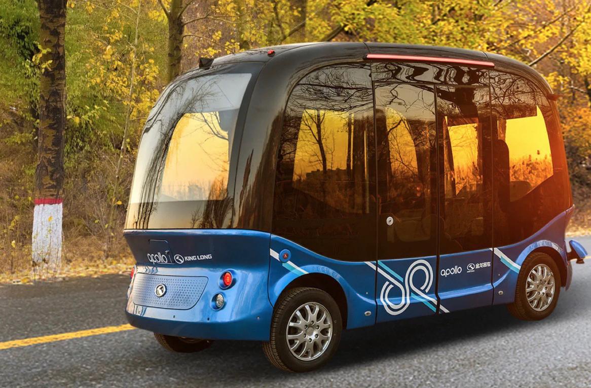 Baidu lanzará sus autobuses autónomos en Japón el próximo año