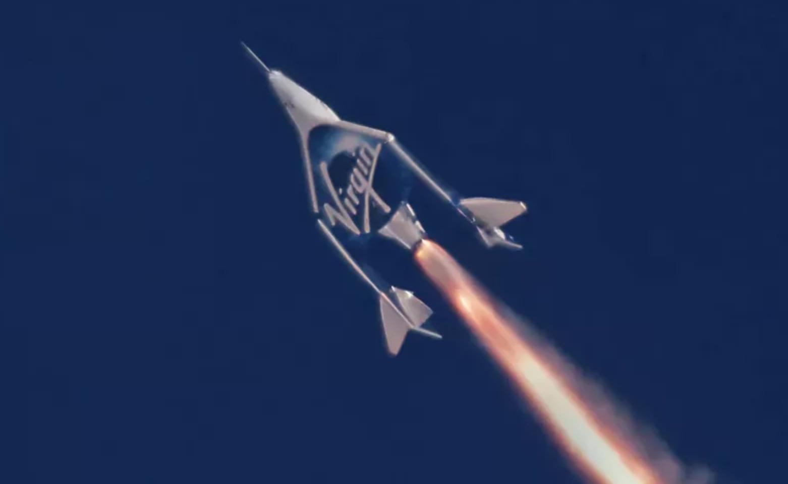 Virgin Galactic acaba de hacer un lanzamiento de prueba de su avión espacial