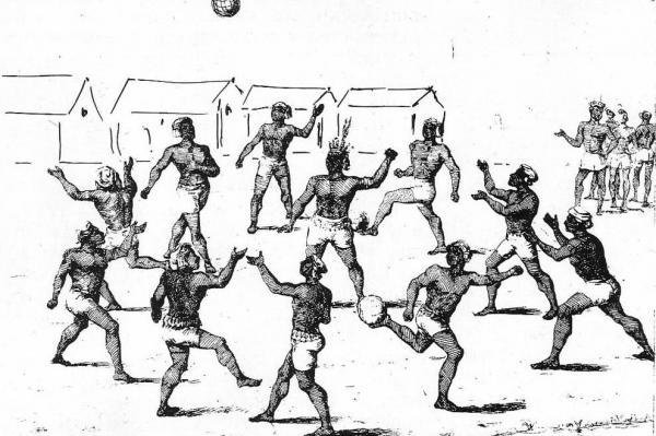 Estudio examina las raíces antiguas de los deportes de equipo