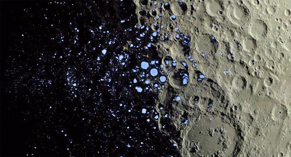 Nuevo estudio sugiere que la Luna podría haber tenido alguna vez vida primitiva