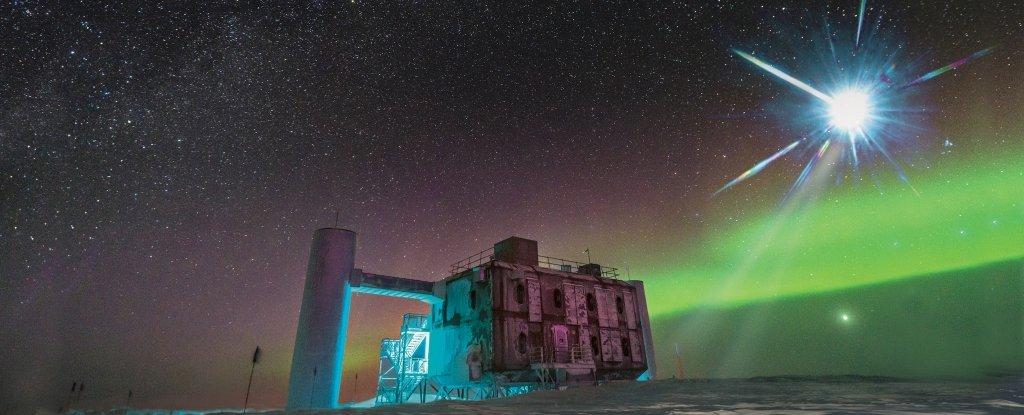 Finalmente, científicos han podido rastrear un neutrino proveniente de fuera de nuestra galaxia