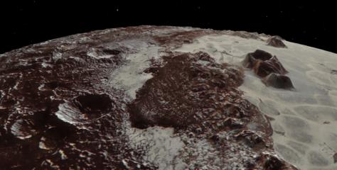 Nuevos mapas de Plutón y su luna Caronte, los más detallados hasta el momento