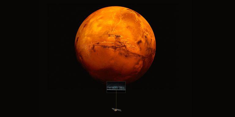 Un lago masivo podría encontrarse bajo la superficie de Marte