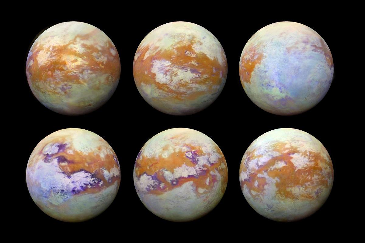 Nuevas fotos de Titán muestran la luna de Saturno como nunca antes se ha visto