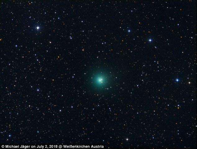 El cometa increíble Hulk estará mañana en su punto más cercano a la Tierra