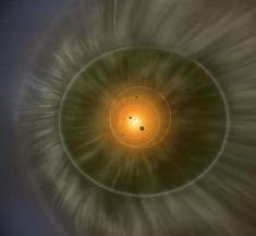 """La sonda New Horizons parece haber descubierto una enorme """"pared de hidrógeno"""" al borde del sistema solar"""