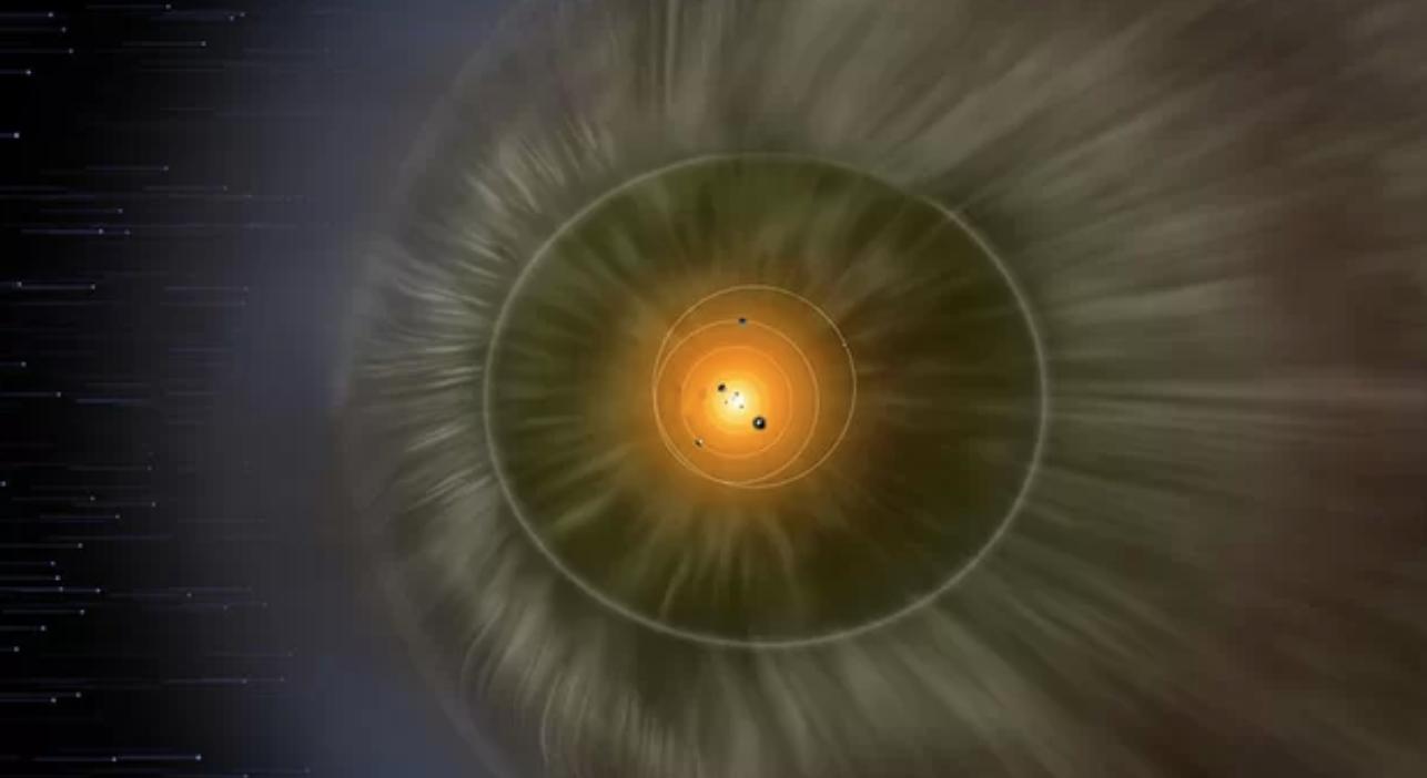 La sonda New Horizons parece haber descubierto una enorme «pared de hidrógeno» al borde del sistema solar