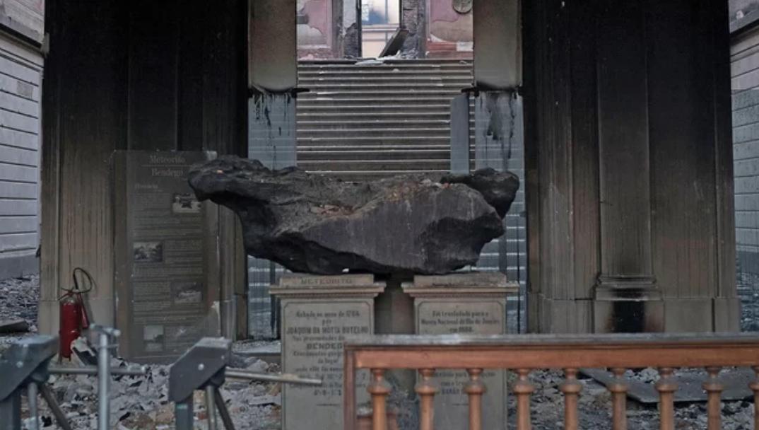 ¿Cuánto se ha perdido en el incendio del museo de Brasil?