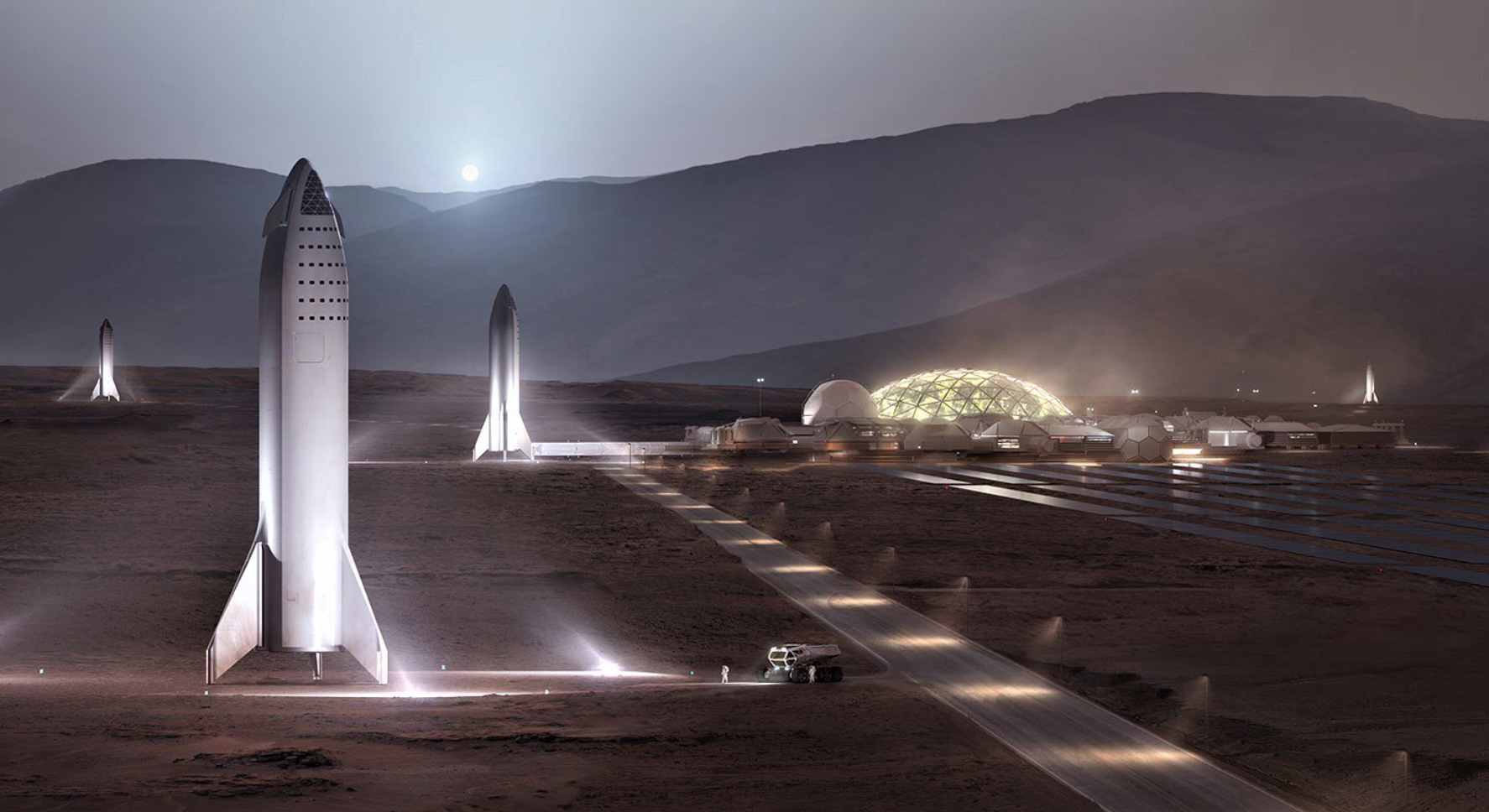 Elon Musk muestra más imágenes de la construcción de lo que será su más grande proyecto