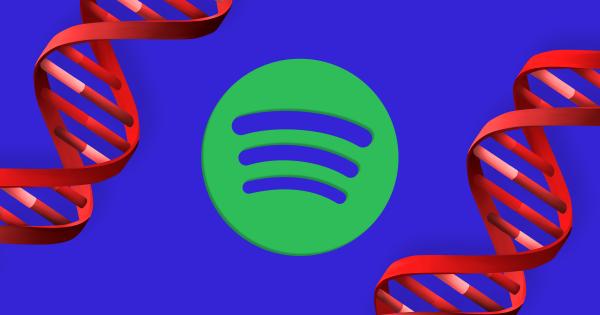 Spotify planea hacer una lista de reproducción basada en tu ADN