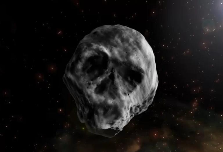 Un asteroide con forma de calavera pasará por nuestro vecindario planetario
