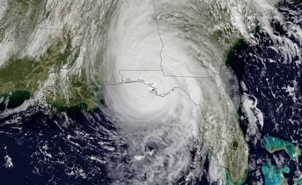 El huracán Michael es oficialmente más poderoso que Katrina