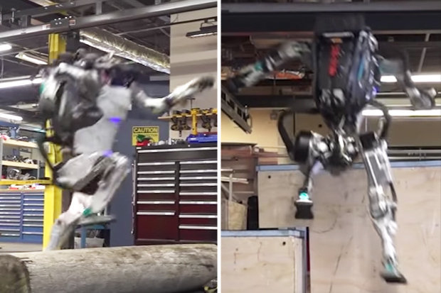 Robot humanoide Atlas ahora puede hacer Parkour