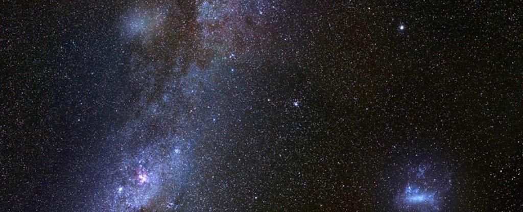 Astrónomos detectan una enorme galaxia fantasma en el borde de la Vía Láctea