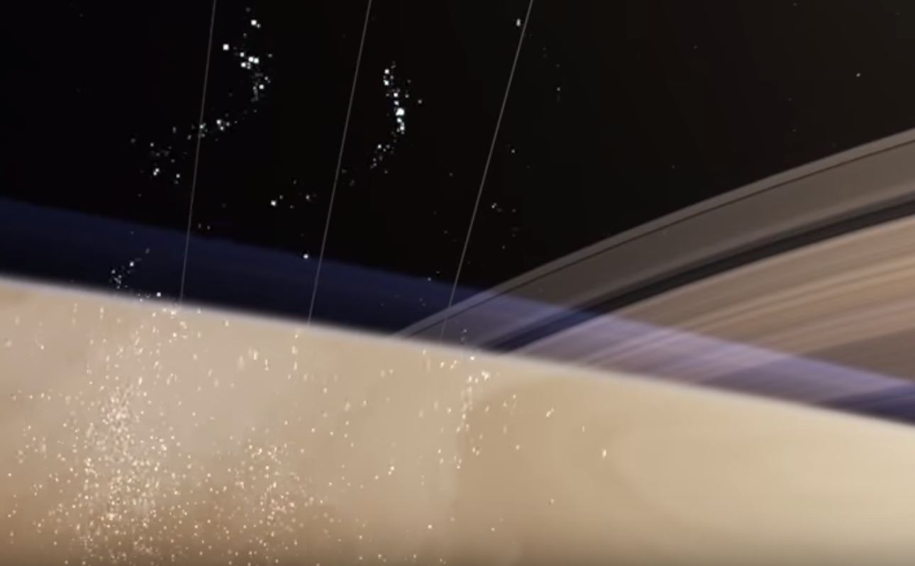 Saturno está perdiendo sus anillos a una velocidad sorprendentemente rápida, según un nuevo estudio
