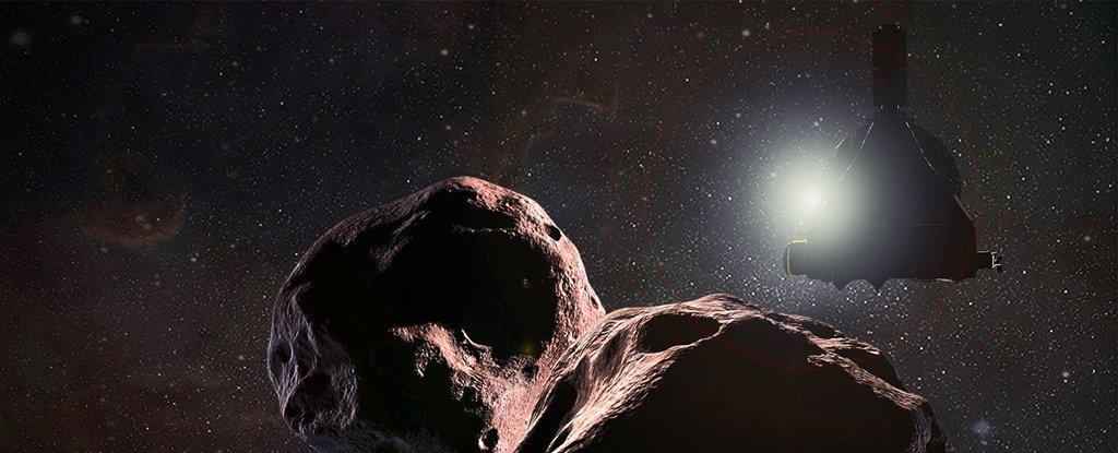 La primera foto a color de Ultima Thule muestra un «muñeco de nieve rojo»