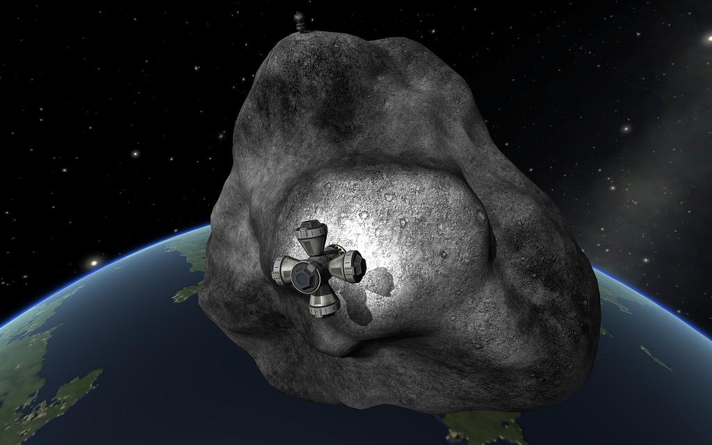 Científicos quieren construir una estación espacial dentro de un asteroide