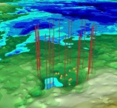 Encontrado otro inmenso cráter escondido debajo del hielo de Groenlandia