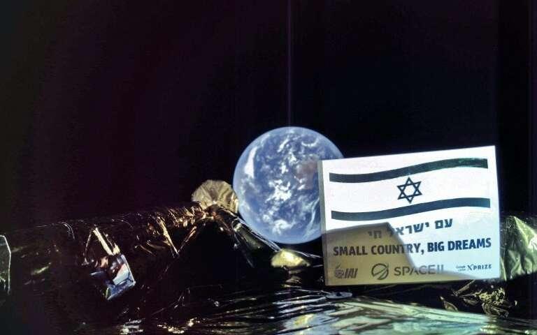 La primera nave espacial de Israel con destino a la Luna se tomó un selfie con la Tierra en el fondo
