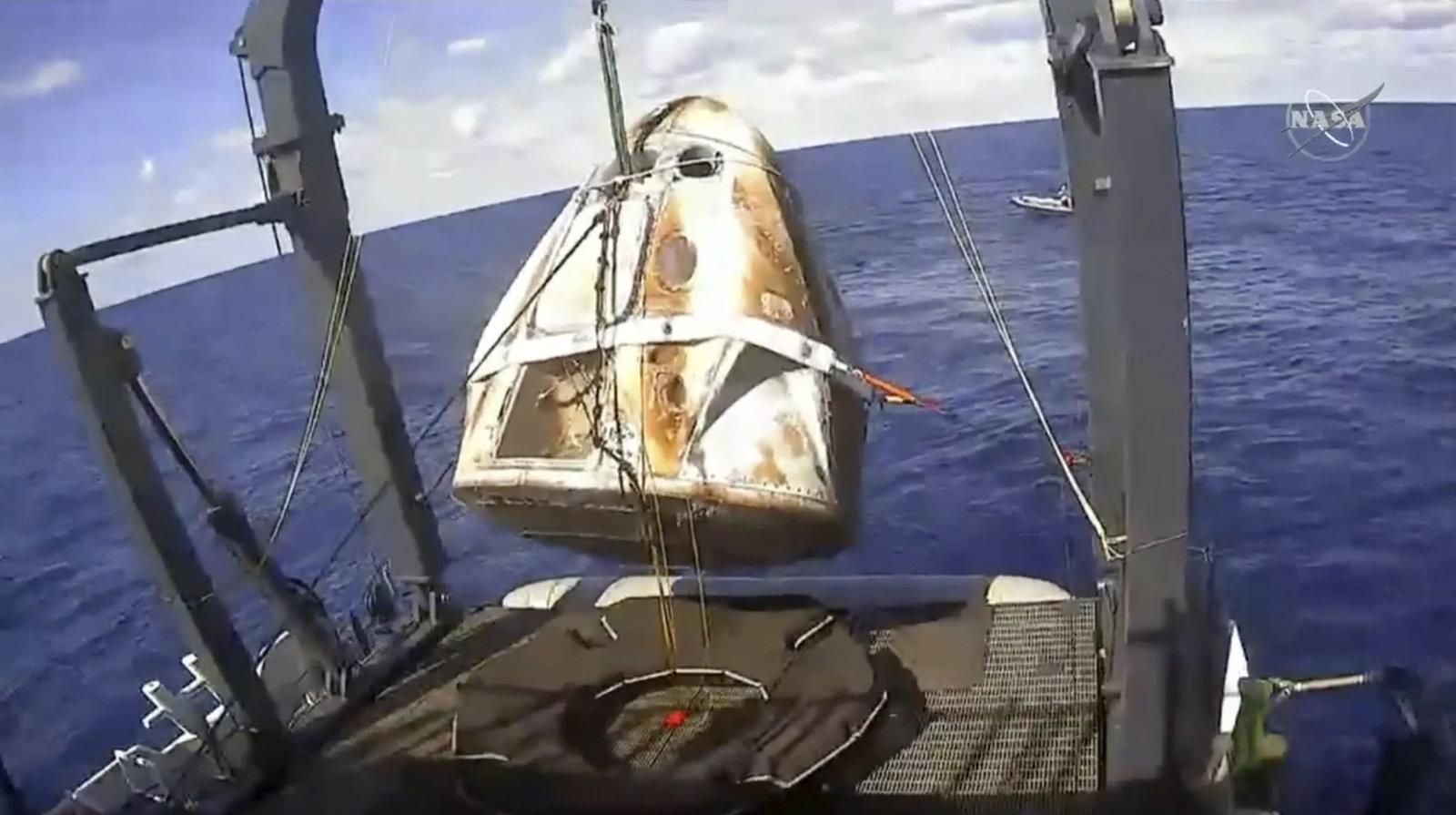SpaceX confirma que la cápsula Dragon fue destruida durante una prueba y podría afectar los lanzamientos de la tripulación