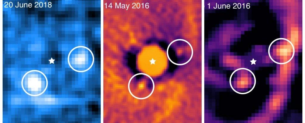 Astrónomos captan planetas bebés formándose alrededor de una estrella joven