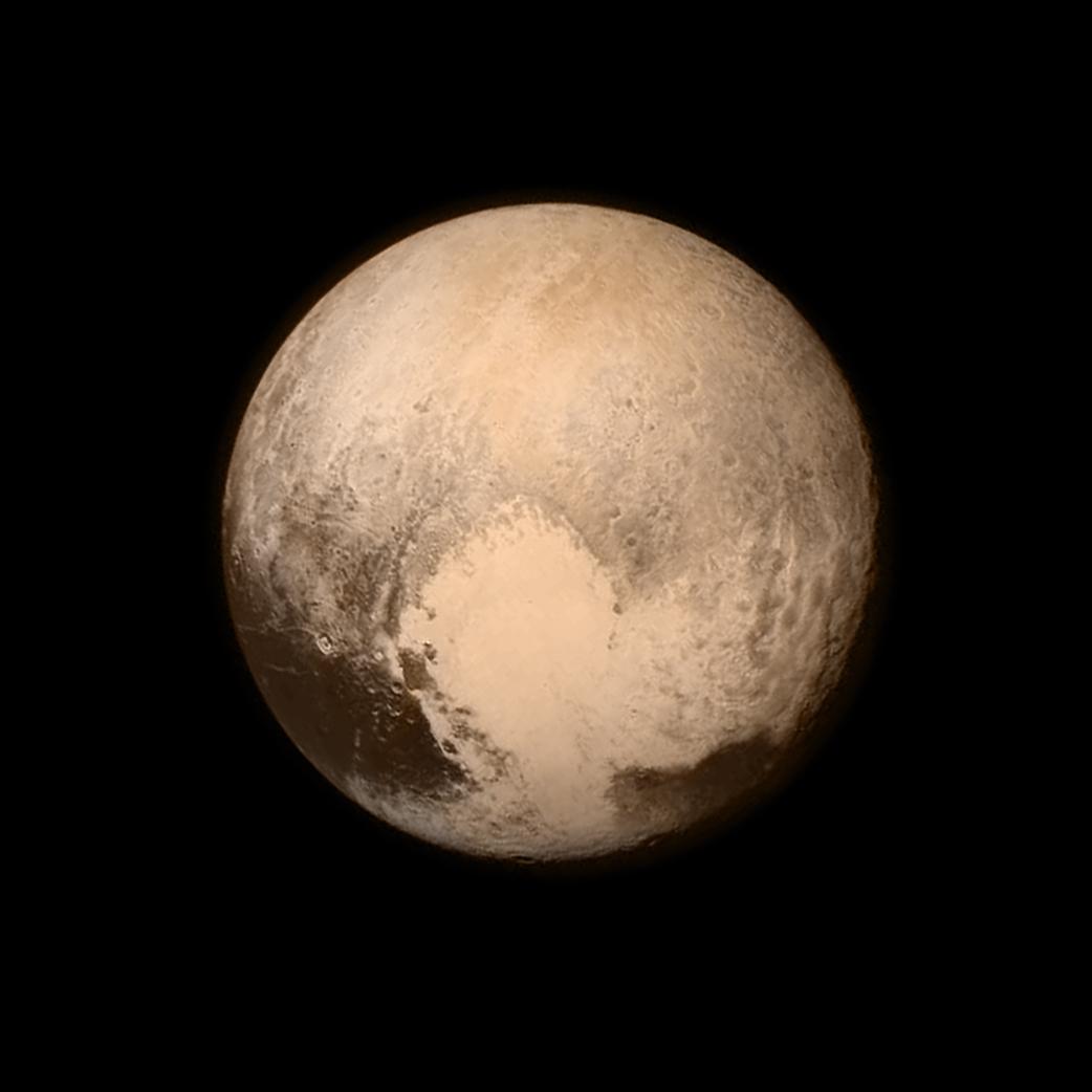 Amoníaco detectado en la superficie de Plutón, sugiere la presencia de aguas subterráneas