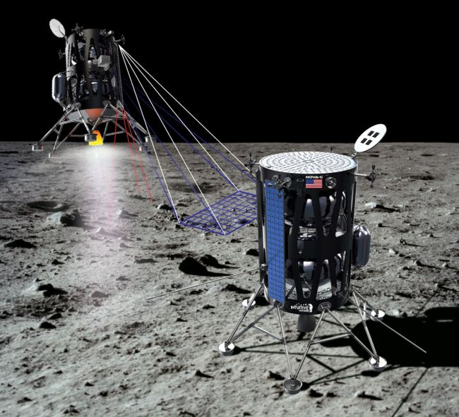 La NASA acaba de seleccionar 3 aterrizadores lunares privados para  llevar ciencia a la Luna