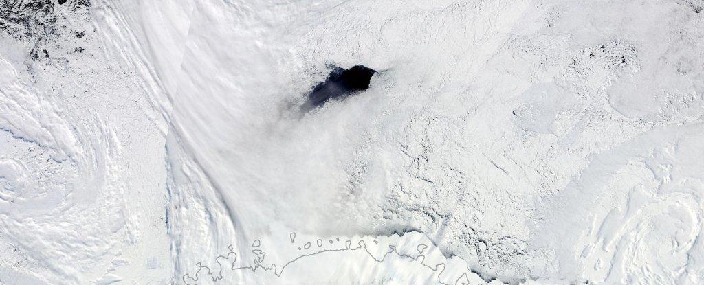 Explicados los misteriosos agujeros que aparecen en la Antártida
