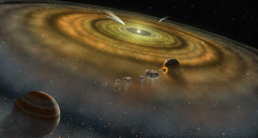 Las lunas que escapan de sus planetas podrían convertirse en «lunetas»