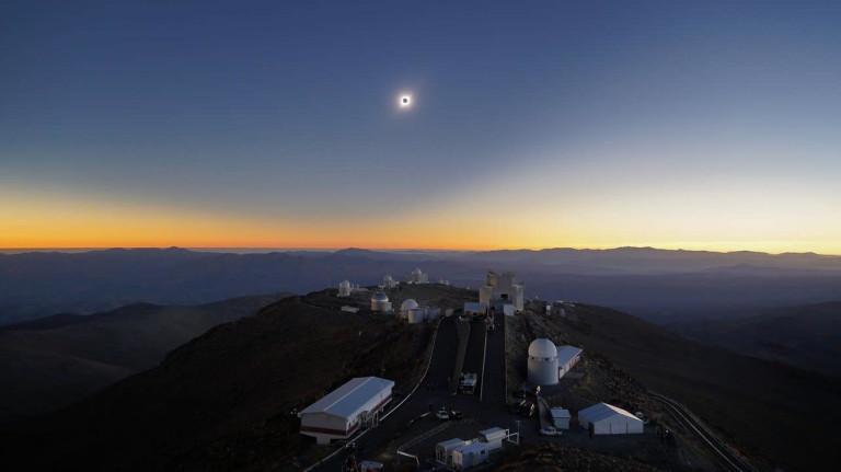 Las mejores imágenes del eclipse total