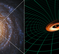 El Hubble descubre un disco en un agujero negro, que no debería existir