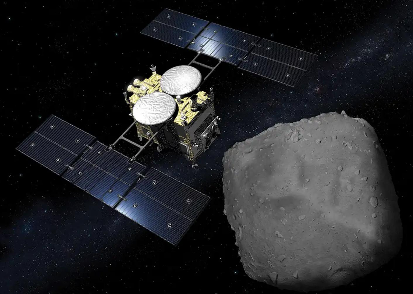 El asteroide Ryugu no tiene polvo y los astrónomos no saben por qué