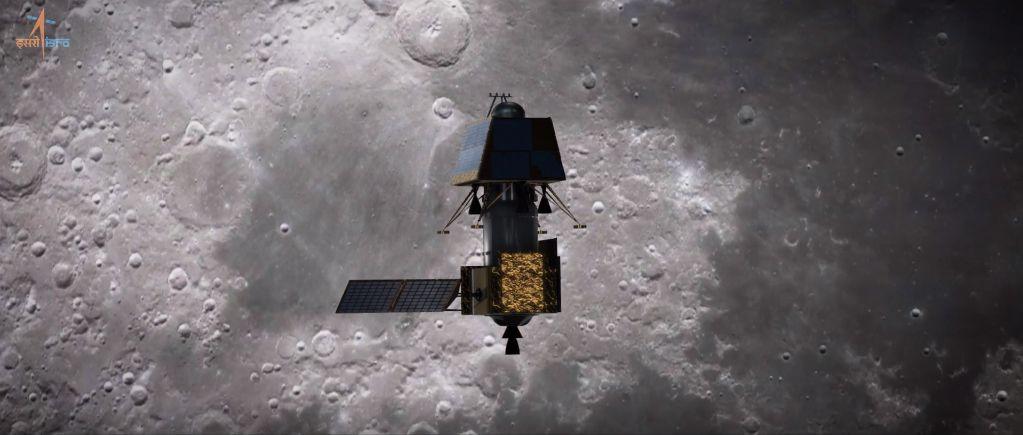 La misión lunar Chandrayaan-2 de India ha ingresado exitosamente a la órbita lunar
