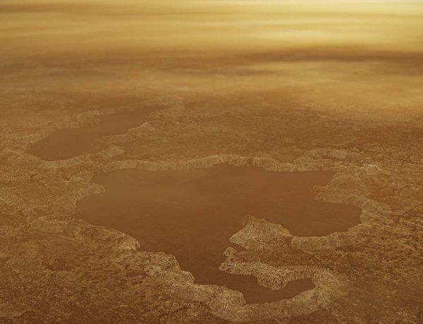 Los lagos de forma extraña de Titán podrían haberse formado a partir de explosiones subterráneas