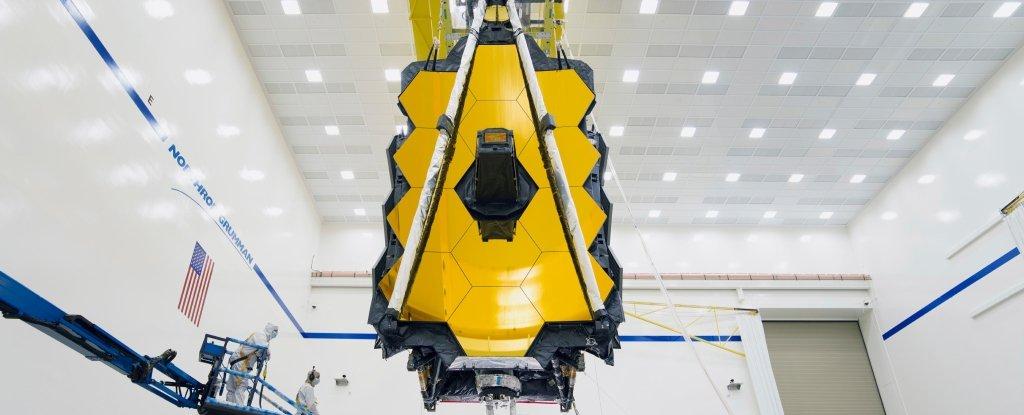 El telescopio espacial James Webb se ha ensamblado completamente y luce muy épico