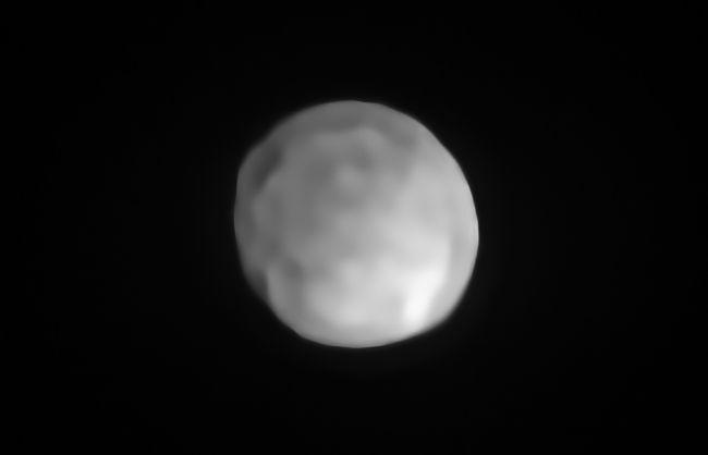 El asteroide Higía puede convertirse en el planeta enano más pequeño del sistema solar