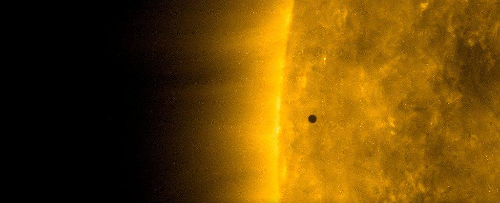 Mercurio pasó por el Sol por última vez hasta el 2032